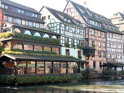 страсбург. маленькая франция