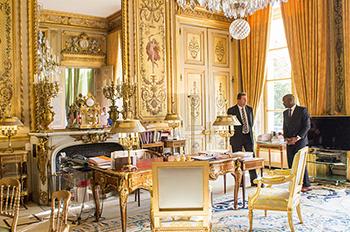 президентский кабинет Франция
