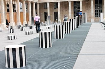 колонны Бюрен