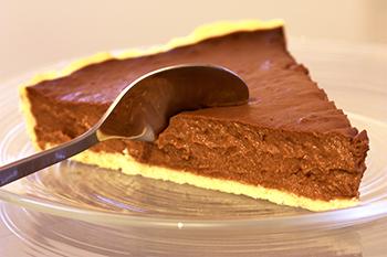 шоколадный тарт